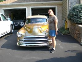 Me and our Chevrolet '52 by Kittylover9399