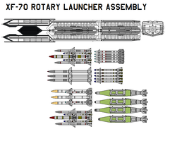 XF-70 Rotary Launcher Assembly by bagera3005