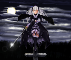 Night angel - Suigintou by Pigeon-Capsule