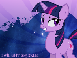 Twilight Sparkle Wallpaper by Swordbeam