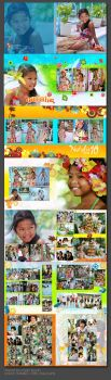 natalie album layout by xmacx