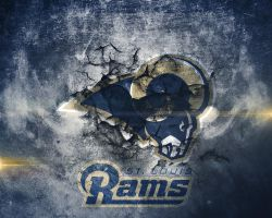 St. Louis Rams Wallpaper by Jdot2daP