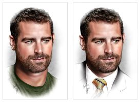 Brian Sims x2 by kenernest63a