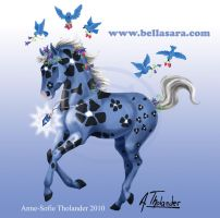 Bella Sunflowers - Bluebelle by MiniBaah