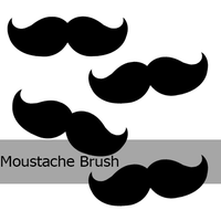 Moustache brush by JaviOllg