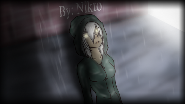 Hooded Woman by NiktoSnowpaw