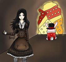 Alice the madness returns (clockwork) by AliceCat33