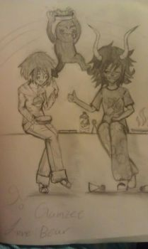 Gamzee and me by xX-SilverRaven-Xx