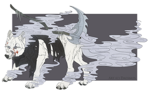 Reaper Wolf-Auction (CLOSED) by Daexmos