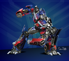 Optimus Prime Vector by drifith