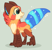 Dat Tail by griffsnuff