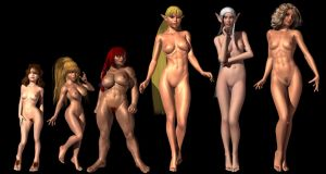 Fantasy Females by Sailmaster-Seion