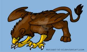 Griffin by Inkblot-Rabbit