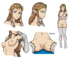 zelda study #1 by akairiot