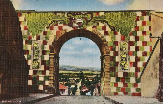 Colonial Arch in the Land of the Maya by Yesterdays-Paper