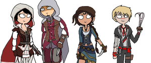 AC multiplayer favorites by GameGal101