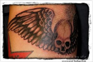 skullwings by propertyistheft