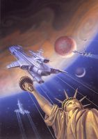 Orbit Unlimited by AlanGutierrezArt