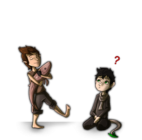 Mori and Ari: Toddlers by LivingAliveCreator
