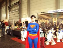 Superman..and ROBOTS Facts'09 by Madenice