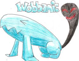 Fake Pokemon- Wobbanic by tk36477