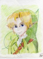 An Old, Detailed Link by Nintendo-Nut1