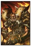 World of Warcraft Garrosh by Tonywash