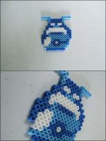 Legend of Zelda Goriya bead sprite by 8bitcraft