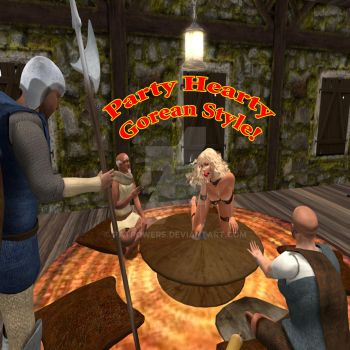 Party Hearty Gorean Style by patpowers