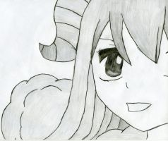 Fairy Tail: Aries by wilburthelame