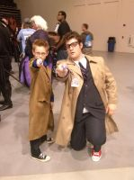 MonsterCon 2013 - Doctors by BlueWaterRose