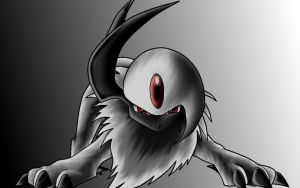 Absol by Alienldr1