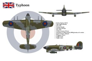 Typhoon Canada 3-View by WS-Clave