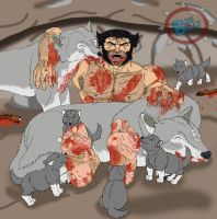 One Of The Pack (Blood Version) by LoveMyBlueBully