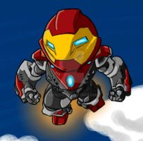 SD Ultimate Iron Man by GuyverC