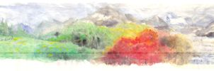 Four Seasons at a Glance by moyan