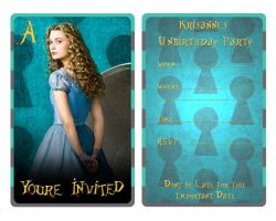 Alice Invitation by EpikAsia