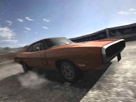 Dodge Charger from GT4 by D4v3yTh3D0rk