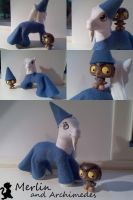 Merlin and LPS Archimedes by customlpvalley