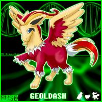 Pokemon FUSION -  .:GEOLDASH:. by KoreenRegion
