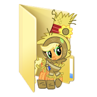 My Little Pony Wizard of Oz Folder Icons by Msgrassisgreener