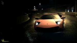 Lambo SV in Stage Route 7 3 by 1R3bor