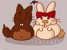 Castore and Conny by lalla17