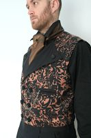 The Amberley - Steampunk Men's Waistcoat by dreadnoughtdesigns