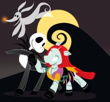 Nightmare Before Christmas (My Little Pony Style) by Trinityinyang