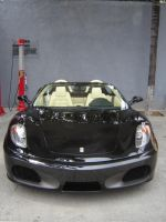 Ferrari F430 front view by BenjiPrice