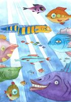 plenty of fish in the sea by pemmi