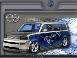 Scion xB Mermaid by Odedodge