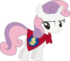 Sweetie Belle (Vector) by Spectty