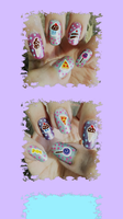 Delicious Manicure iPhone Wallpaper by MikariStar